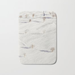 White Winterscapes I Bath Mat