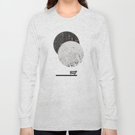 Calculating a Jump over the Moon Long Sleeve T-shirt