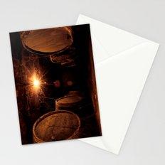 Wine Barrels Stationery Cards