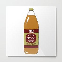 40 oz Metal Print