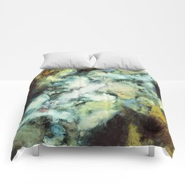 Escaping horses Comforters