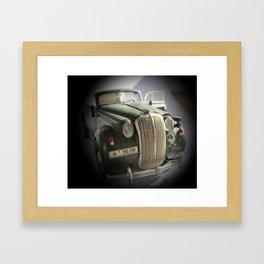 Old car Framed Art Print