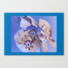 Greeting Card Flower75e Canvas Print