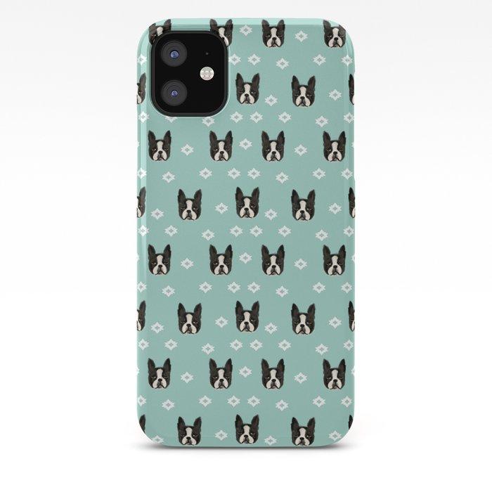 dog animal pattern Cute Boston Terrier Dog Puppy iphone case