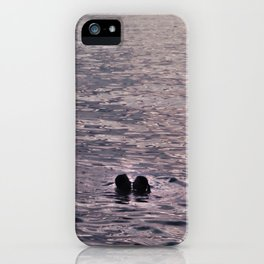 Kiss in the Lake iPhone Case