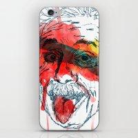 einstein iPhone & iPod Skins featuring Einstein by Alan fe