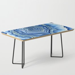 Blue Geode Coffee Table