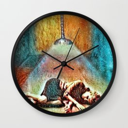 Morning Found Her Wall Clock