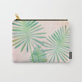 Under The Summer Sun - Palm Fronds Carry-All Pouch