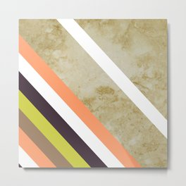 Cappucino Marble Graphic design Wall decor interior design Natural Marble Wall Print Metal Print