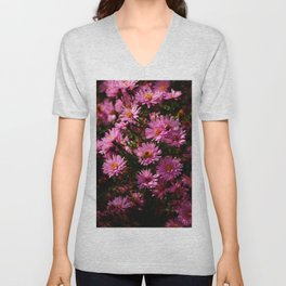 Wild Chrysanthemum Unisex V-Neck