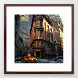Delmonico's, New York City Framed Art Print