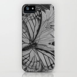 Monarch over Aster iPhone Case