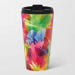 Fluo Feathers Travel Mug