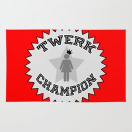 Twerk Champion Rug