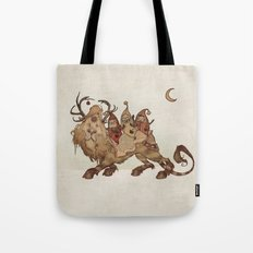 The Yuletide Beast Tote Bag