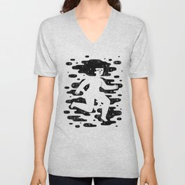 Escape to Another Dimension Unisex V-Neck