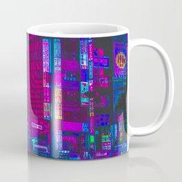 Retro Game VHS Cyberpunk City Coffee Mug