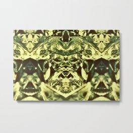 aluminum foil Metal Print