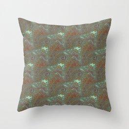 Kacha - Wild mandala pieces K of Alphabet collection Throw Pillow