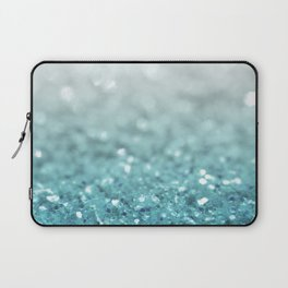 MERMAID GLITTER - MERMAIDIANS AQUA Laptop Sleeve