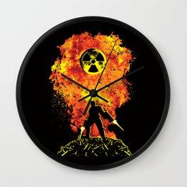 Nuke 'Em All! Wall Clock