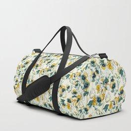vintage floral pattern 3 Duffle Bag