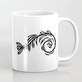 B&W Bone Fishish 108 Coffee Mug