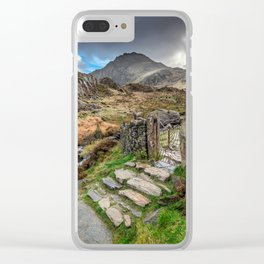 Gate to Snowdonia Clear iPhone Case