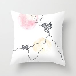 Scandi Micron Art Design | 170412 Telomere Healing 12 Throw Pillow