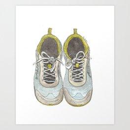 Let's Go Running Art Print