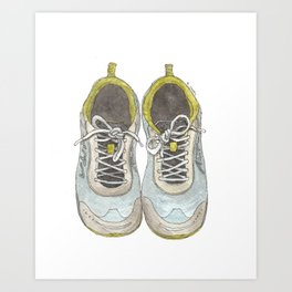 Let's Go Running Art Print