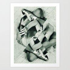 Die Tänzerin · directors cut Art Print