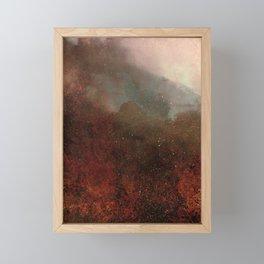 FOREST FIRE Framed Mini Art Print