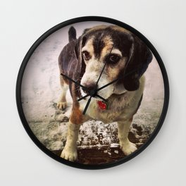 The Fearless Hunter Wall Clock