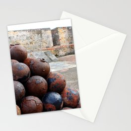 Cannonballs at San Felipe del Morro Stationery Cards