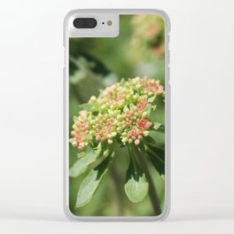 Yellowstone Wildflowers 2 Clear iPhone Case