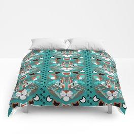 Cubist Cat Comforters