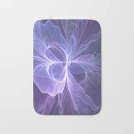 Abstract Art, Purple Fantasy Fractal Bath Mat