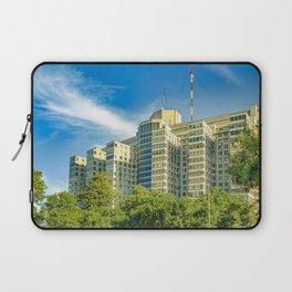Hospital Building Exterior View, Montevideo, uruguay Laptop Sleeve