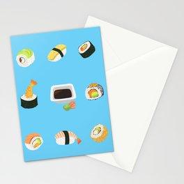 Sushi Pattern Stationery Cards