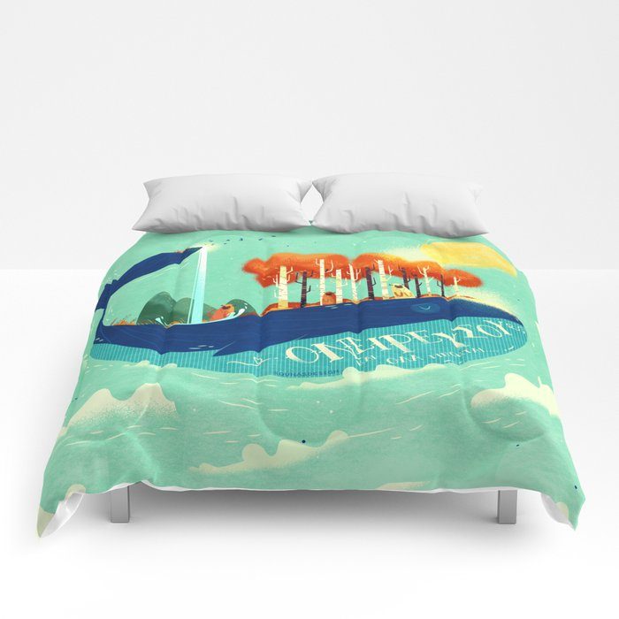 :::Tall Tree Whale::: Comforters