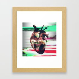 Naked @ heart Framed Art Print