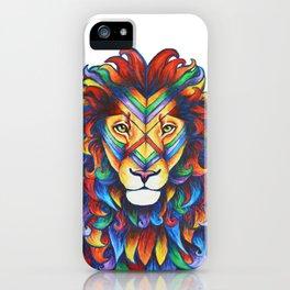 Mufasa in Technicolour iPhone Case