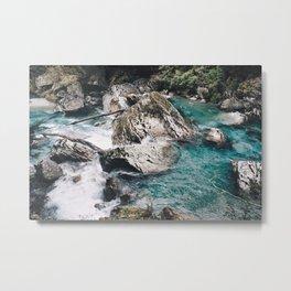 Glacial River Metal Print