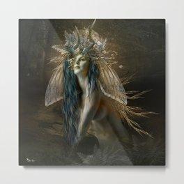 Sen The Wood Fairy Metal Print