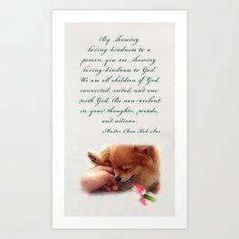 Loving-Kindness Art Print