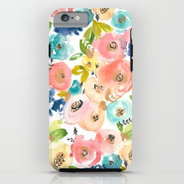 Floral POP #1 iPhone Case