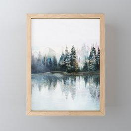 Winter Morning Framed Mini Art Print