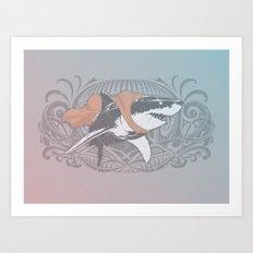 Fearless Creature: Whitey Art Print